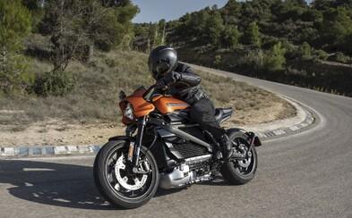 Harley-Davidson představil první elektrickou motorku s dojezdem 177 kilometrů
