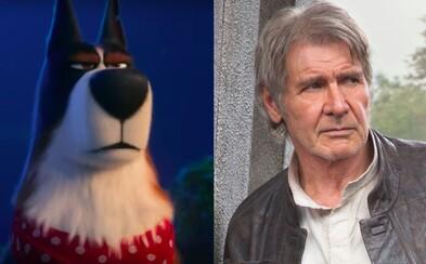 Harrison Ford sa v Tajnom živote maznáčikov 2 premení na drsného alfa samca