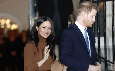 """Harry a Meghan již nesmí používat titul """"královská výsost"""". S královnou uzavřeli dohodu"""