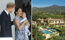Harry a Meghan mají nové bydlení za více než 14 milionů dolarů. Koupili si dům v kalifornské Santa Barbaře.
