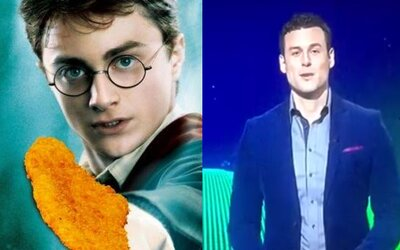Harry Potter a rezeň z Azkabanu. Slovenský moderátor zabáva ľudí svojím breptom zo správ