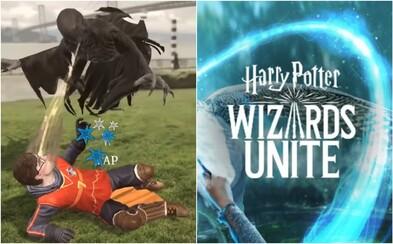 Harry Potter na štýl Pokémon Go sa nezadržateľne blíži, hráči budú zbierať artefakty, bojovať a kúzliť