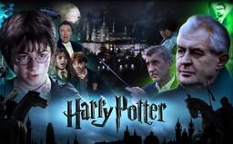 Harry Potter v satirickém videu bojuje se Zemanem, Babišem a Ovčáčkem