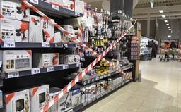 Havlíček: Supermarkety budou prodávat, kromě výjimek jako na jaře, jen výrobky povolené pro prodej v malých obchodech