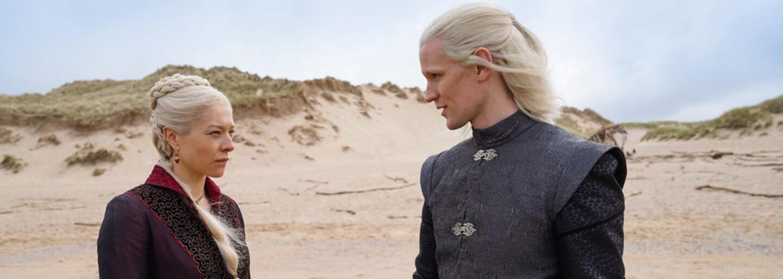 HBO ukázalo první obrázky z prequelu Game of Thrones s názvem House of the Dragon. Poznáme v něm historii Targaryenů