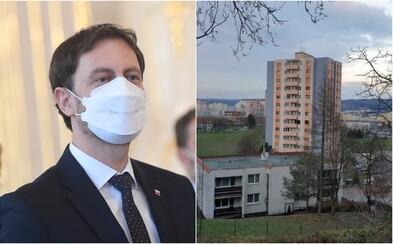 Heger zostane bývať v paneláku na bratislavskom sídlisku. Služobný byt využívať nebude