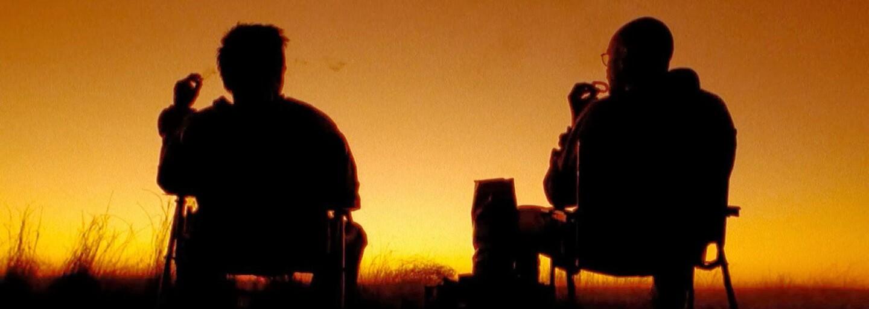 Heisenerg a Jesse Pinkman z Breaking Bad si dali po rokoch menšiu stretávku, aby si v legendárnom karavane urobili raňajky