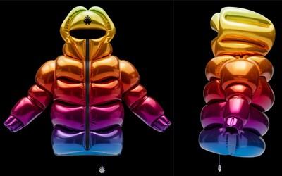 Helium-10000: Nafukovacia bunda, ktorá je namiesto páperia naplnená héliom a môžeš ju nosiť ako balón