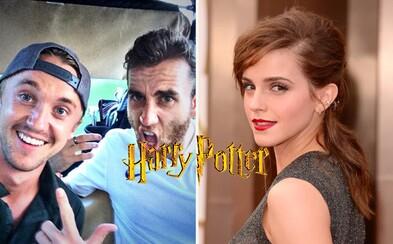 Herci z Harryho Pottera si dodnes píšu v skupinovom chate. Emma Watson komunikuje s Danielom aj Rupertom a fanúšikovia zostali vo vytržení