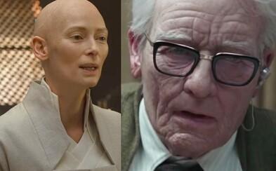 Herečka Tilda Swinton sa v horore Suspiria zmenila na 82-ročného muža. Nosila dokonca aj umelý penis