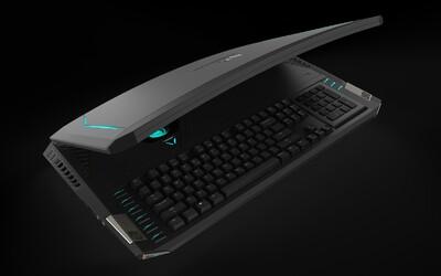 Herní notebook Acer Predator 21 X s dvěma grafickými kartami GTX 1080 míří do obchodů. Z jeho ceny se vám ale udělá zle