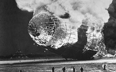 Hindenburg: Smrtiace inferno ukončilo zlatú epochu fascinujúcich vzducholodí