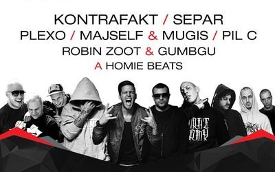 Hip Hop Žije 2015 oznamuje ďalšie mená. Nechýba Kontrafakt, Separ, Plexo, Majself & Mugis či Pil C!