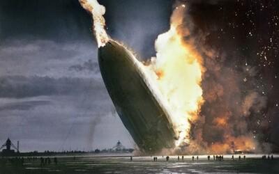 Historické fotografie, se kterými se vrátíš i o 100 let dozadu. Jak vypadal drogový úkryt nebo exploze obrovské vzducholodě Hindenburg?
