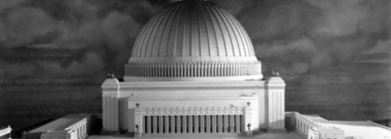 Hitler chtěl postavit hlavní město celého světa. Do největší budovy by se vešlo 180 tisíc lidí a měla mít vlastní počasí