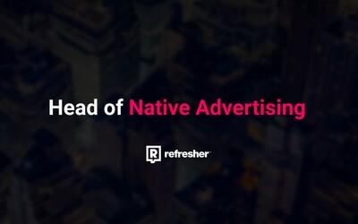 Hľadá sa Head of Native Advertising