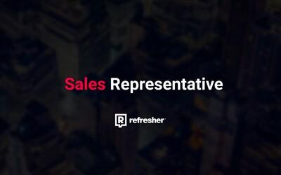 Hľadá sa Sales Representative. Hľadáme kreatívneho človeka s digitálnymi znalosťami