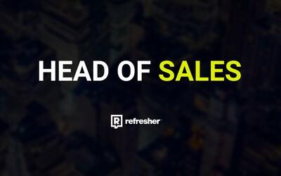 Hľadáme Head of Sales, vedúceho obchodného oddelenia