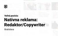 Hľadáme redaktora pre reklamný obsah – copywritera. Poď tvoriť špičkovú natívnu reklamu