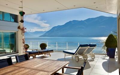 Hladina nádherného jazera, ktorú budeš obdivovať z luxusného 5-izbového penthousu. Vyzerá takto sen o bývaní?