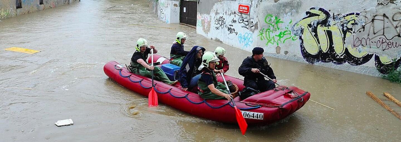 Hladiny řek v Česku se budou zvedat. Meteorologové varují před povodněmi v těchto krajích