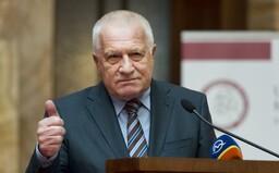 Hlasitý odpůrce roušek Václav Klaus má covid-19