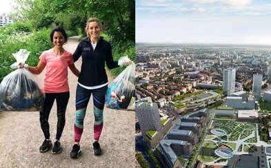 Hlavné mesto má svoje vlastné People of Bratislava! Na Nivách vznikol projekt, kde budú ľudia spoločne zbierať odpad či chodiť na kávu