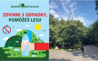 Hlavné mesto spúšťa novú ekologickú kampaň Zelená Bratislava. Hodlá udržiavať čistotu v lesoch či skoncovať s plastovými slamkami