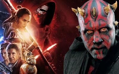 Hlavným záporákom novej trilógie Star Wars podľa Georga Lucasa mal byť Darth Maul. Štúdio Disney však zmenilo celý príbeh