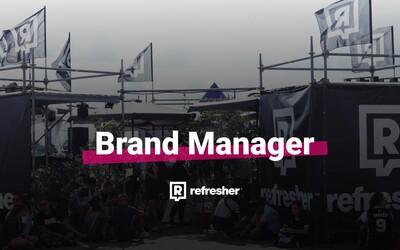 Hledá se Brand Manager pro REFRESHER
