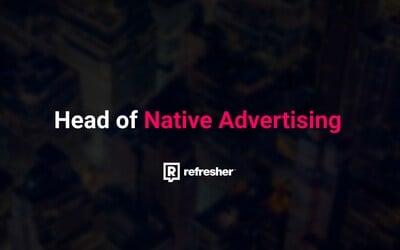 Hledá se Head of Native Advertising