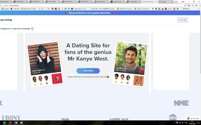 Hledáte svou životní lásku na internetu a máte přísné nároky na hudební vkus? Yeezy Dating je řešením!