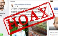 HOAX: Falošné profily Pellegriniho, Rozborila a Hamšíka sľubujú vysoké zárobky, naleteli stovky Slovákov