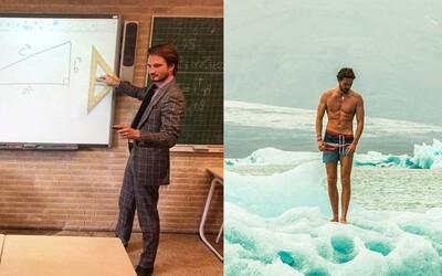 Holandský učiteľ matematiky roztápa srdcia svojich študentiek. Obľubuje obleky a svojej kariére je naplno odovzdaný