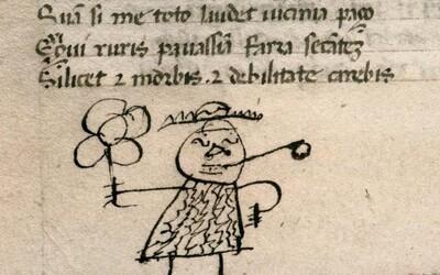 Holandský vedec zistil, že už v stredoveku si znudení žiaci kreslili do kníh