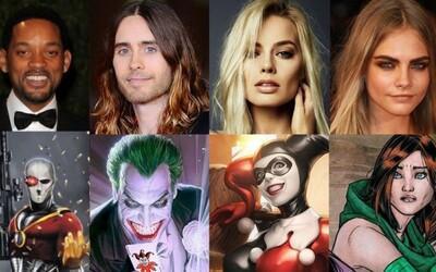 Hollywood dostane masívne herecké obsadenie do novej komiksovky na čele s Hardym, Smithom, Carou či Letom