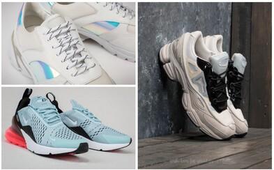 Holografické prvky, Raf Simons či ikonické Nike. Aj na Slovensku kúpite tenisky, ktorými si získate pozornosť