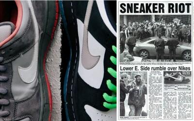 Holubi od Nike před lety navždy změnili streetwearovou kulturu soubojem s policií. Za pár dní se vrátí do prodeje
