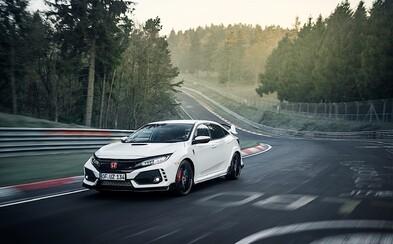 Honda je opäť kráľom triedy na Nürburgringu! 320-koňový Civic Type R je najrýchlejším hot-hatchom s predným pohonom