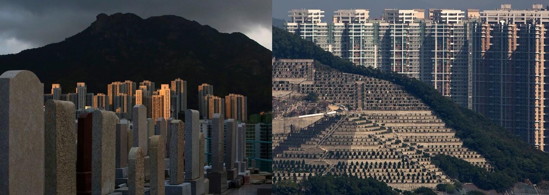 Hongkongu dochádza miesto na cintorínoch a ľudia pochovávajú blízkych rôznymi spôsobmi. Nechávajú ich pretvoriť na drahokamy