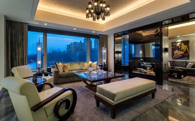 Honosný apartmán saudského prince s vlastním kadeřnictvím nebo neprůstřelnými místnostmi je na prodej za více než miliardu korun