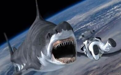 Horiace a tancujúce žraloky útočia na ľudí v štvrtej časti šialeného Sharknado