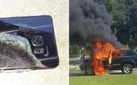 Hořící smartphony Galaxy Note7 způsobily další škody a ohrozily zdraví. Samsung chce všechny dálkově vypnout