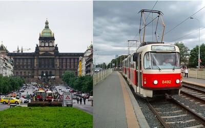 Horní částí Vaclavského náměstí začnou opět projíždět tramvaje