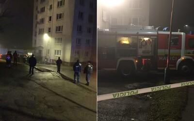 Hororovú noc zažilo 108 obyvateľov bytovky v Bardejove. Unikala voda a horeli elektrické rozvody, zatiaľ sa nemôžu vrátiť domov