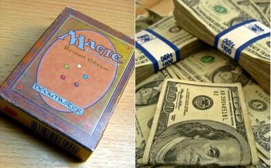 Hráč koupil vzácnou kartu z Magic: The Gathering za skoro 2 miliony korun