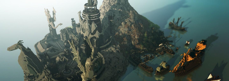 Hráči Minecraftu se rozhodli ve hře vybudovat svět z Game of Thrones