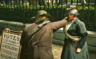 Hráči se v Red Dead Redemption 2 baví zabíjením feministek. Na internetu si už vysloužili silnou kritiku