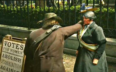 Hráči sa v Red Dead Redemption 2 bavia zabíjaním feministiek. Na internete si už vyslúžili silnú kritiku