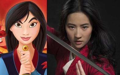 Hraná verzia disneyovky Mulan sa predstavuje s prvým obrázkom a Natalie Portman stvárni popovú hviezdu